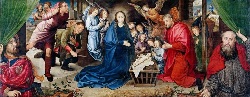 Hugo van der Goes (c.1425-1482) - The Adoration of the Shepherds. Part 2