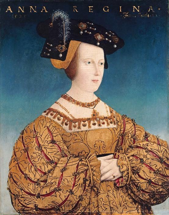Малер, Ганс (1480-c.1530) - Портрет Анны Богемской и Венгерской. Часть 2