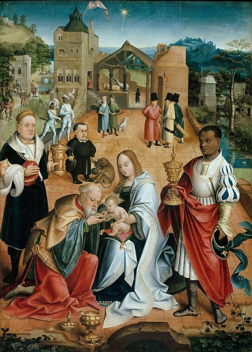 Jacob van Utrecht (c.1480-c.1540) - Adoration of the Kings. Part 2