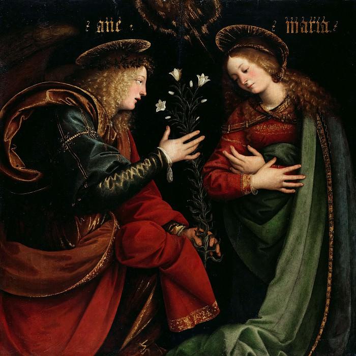 Феррари, Гауденцио (ок1475-1546) - Благовещение. Часть 2