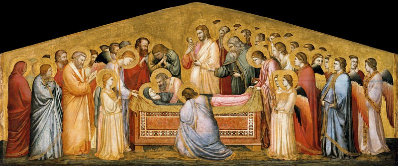 The Entombment of Mary. Giotto di Bondone
