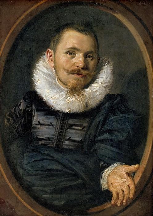Frans Hals (1582-83-1666) - Portrait of a man. Part 2