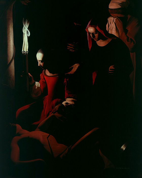 The discovery of Saint Sebastian. Georges de La Tour