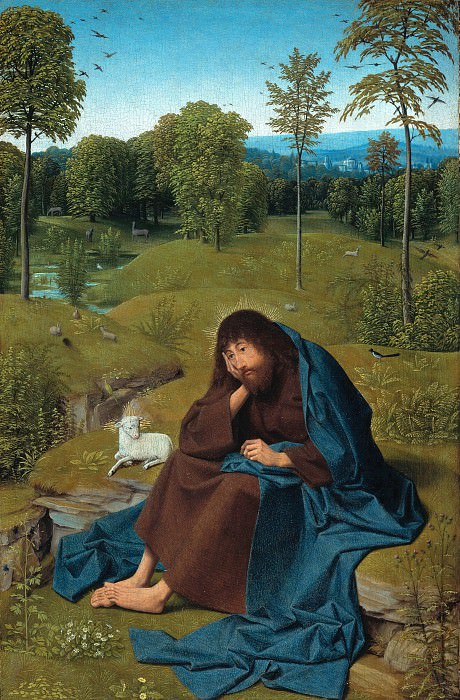 Geertgen tot Sint Jans (1460-65-1490-95) - John the Baptist in the desert. Part 2