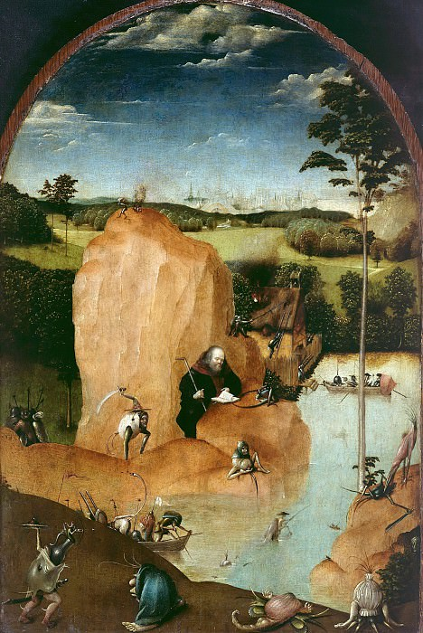 The Temptation of Saint Anthony (follower). Hieronymus Bosch