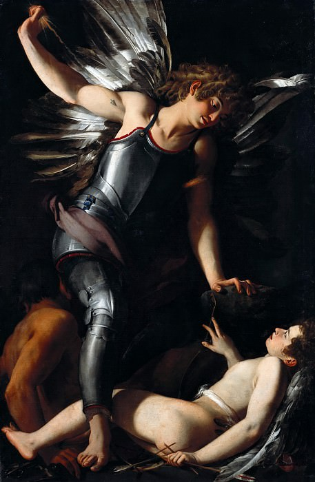Giovanni Baglione (1566-1643) - The Divine Eros Defeats the Earthly Eros. Part 2