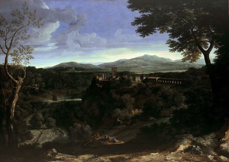 Gaspard Dughet (1615-1675) - Landscape with Aqueduct. Part 2