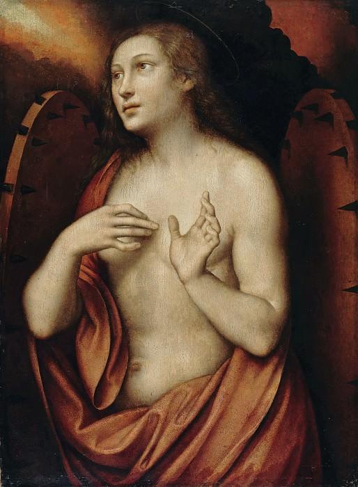 Giampietrino (active 1495-1549) - The St. Catherine of Alexandria. Part 2