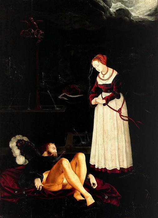 Бальдунг, Ганс (ок1485-1545) - Пирам и Фисба. Часть 2