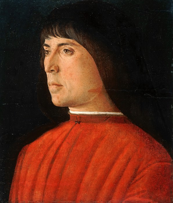 Giovanni Bellini (c.1430-1516) - Portrait of a young man. Part 2