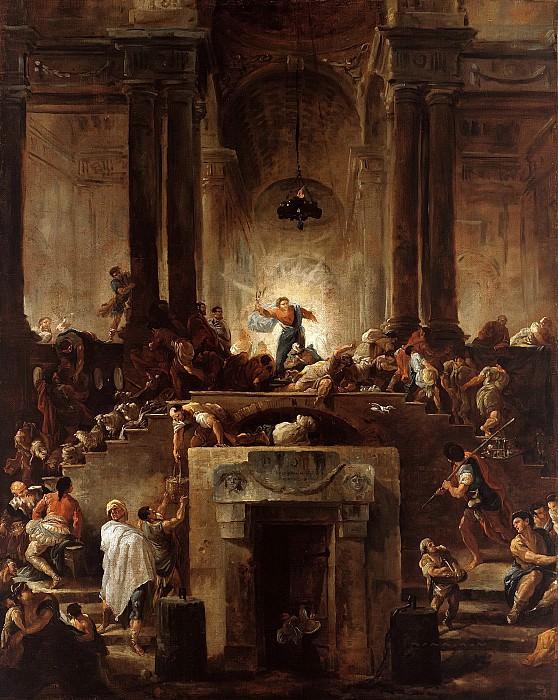 Робер, Юбер (1733-1808) - Изгнание торгующих из храма. Часть 2