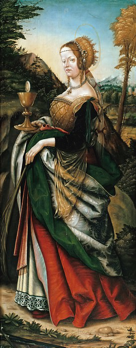 Hans Burgkmair I (1473-1531) - The St. Barbara. Part 2