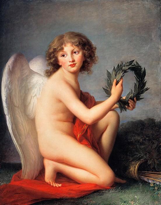 Prince Heinrich Lubomirski as the Genius of Fame. Élisabeth Louise Vigée Le Brun