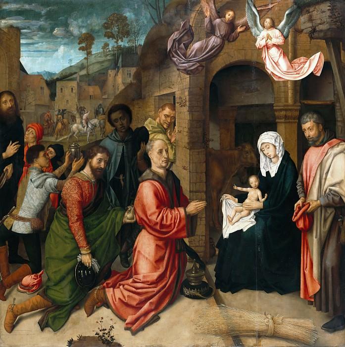 Гус, Хуго ван дер (ок1425-1482) - Поклонение волхвов. Часть 2