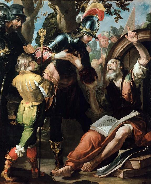 Gioacchino Assereto (1600-1649) - Alexander and Diogenes. Part 2