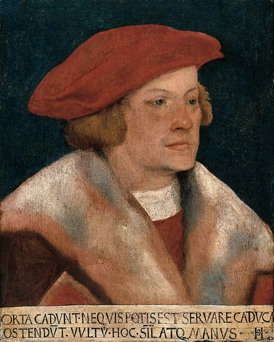 Hans Schaufelein (1480-85-ок1538) - Self-portrait. Part 2