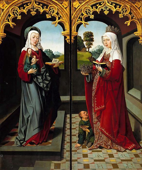 Jacob Cornelisz van Oostsanen (c.1470-1533) - Triptych of Saint Augustine. Part 2