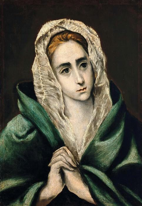 Mater Dolorosa. El Greco