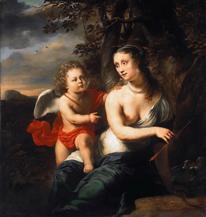 Ferdinand Bol (1616-1680) - Venus and Cupid. Part 2