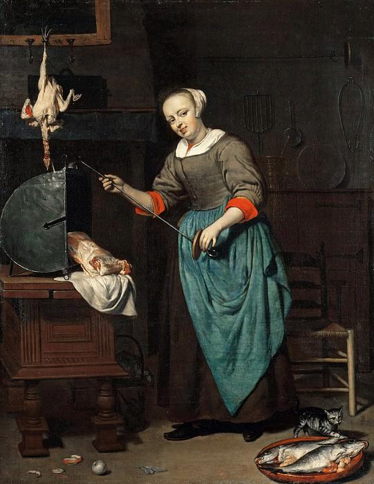 Gabriel Metsu (1629-1667) - The cook. Part 2