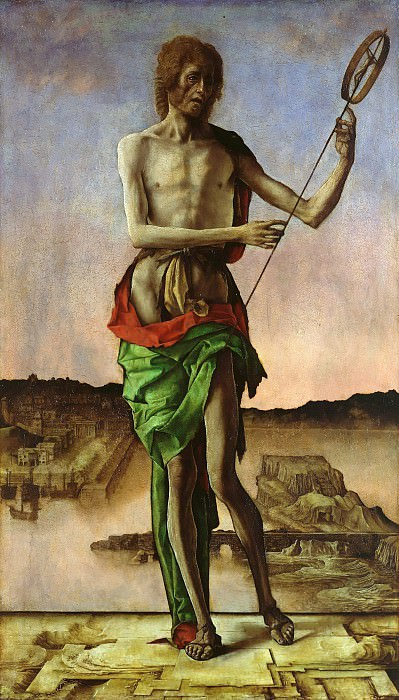 Ercole de Roberti (ок1450-1496) - John the Baptist. Part 2
