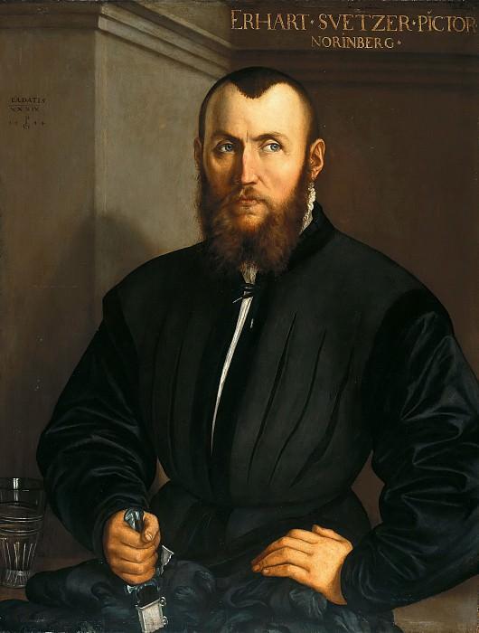 Georg Pencz (c.1500-1550) - Nuremberg painter Erhard Schweitzer. Part 2