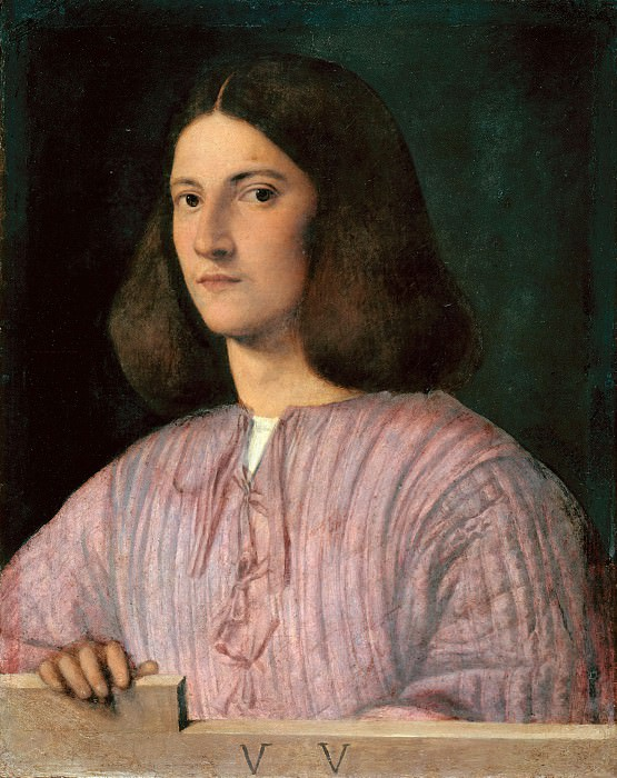 Giorgione (c.1478-1510) - Portrait of a young man. Part 2