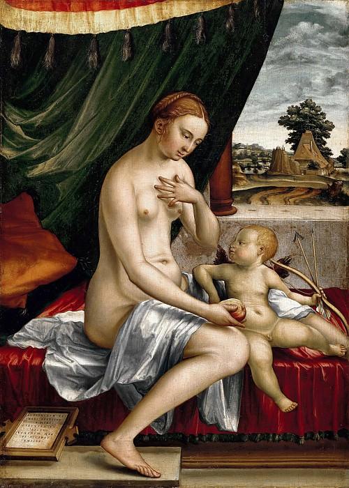 Пенц, Георг (c.1500-1550) - Венера и Амур. Часть 2