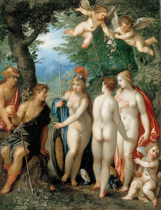 Hendrik van Balen I (1575-1632) - The Judgment of Paris. Part 2