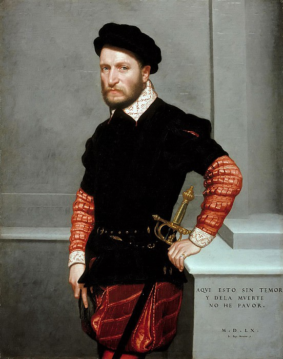 Giovanni Battista Moroni (c.1525-1578) - Don Gabriel de la Cueva, Duke of Albuquerque. Part 2