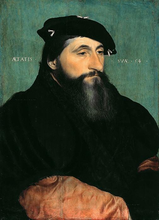 Hans Holbein II (1497-1543) - Duke Anton the Good of Lorraine. Part 2
