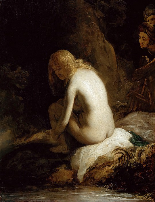 Govaert Flinck (1615-1660) - Susanna and the Elders. Part 2