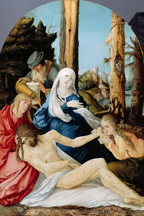 Hans Baldung (c.1485-1545) - The Lamentation of Christ. Part 2