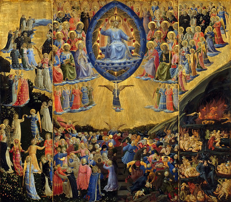 The Last Judgement. Fra Angelico
