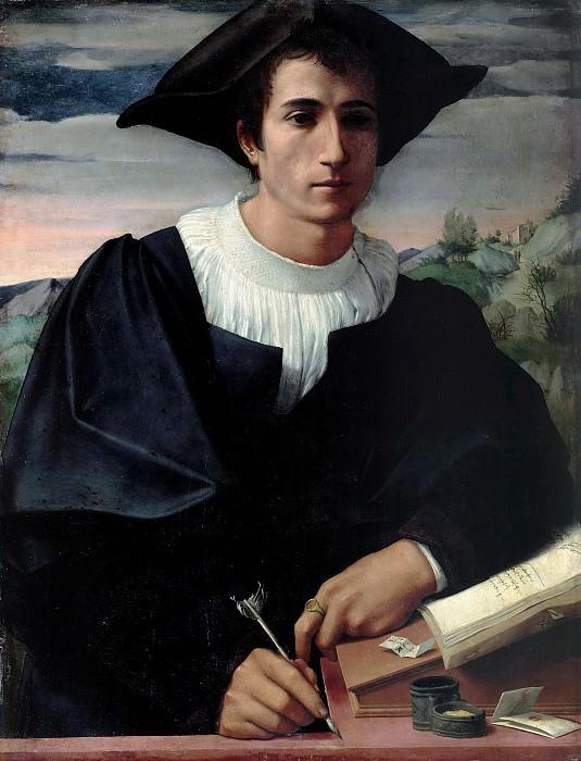 Франчабиджо (1484-1525) - Портрет молодого человека. Часть 2