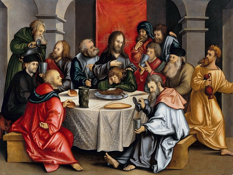 Hans Schaufelein (1480-85-ок1538) - The Last Supper. Part 2