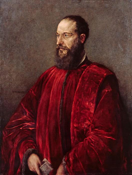 Jacobo Bassano (c. 1515-1592) - Portrait of a Venetian Procurator. Part 2