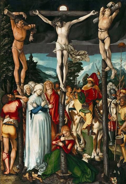 Hans Baldung (c.1485-1545) - The Crucifixion. Part 2