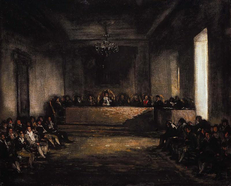 Francisco de Goya (1746-1828) - The Junta of the Philippines. Part 2