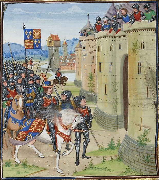 A033L Англо-Шотлантская война - Эдуард III у стен Бервика. Хроники Фруассара