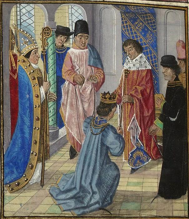 D328L Отречение Ричарда II Английского. Хроники Фруассара