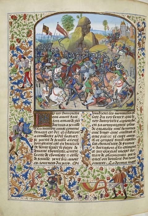 A328L Битва при Монтьеле в 1369 году. Хроники Фруассара