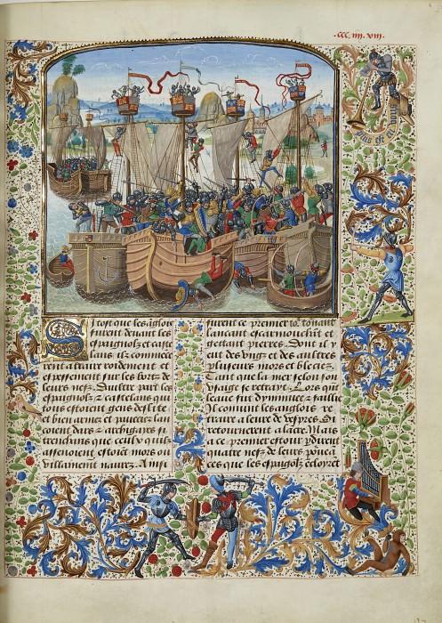 A393R Морское сражение при Ла-Рошели в 1371 году. Хроники Фруассара