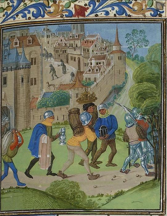 C294R Разграбление Монферрана в 1388 году. Хроники Фруассара