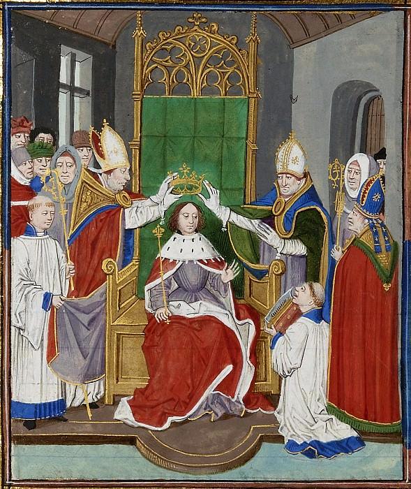 A012R Коронация Эдуарда III. Хроники Фруассара