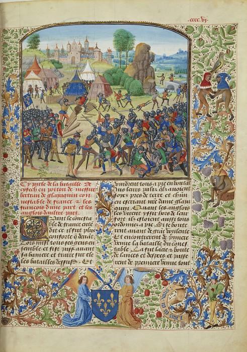 A406R Битва при Шизе в 1373 году. Хроники Фруассара