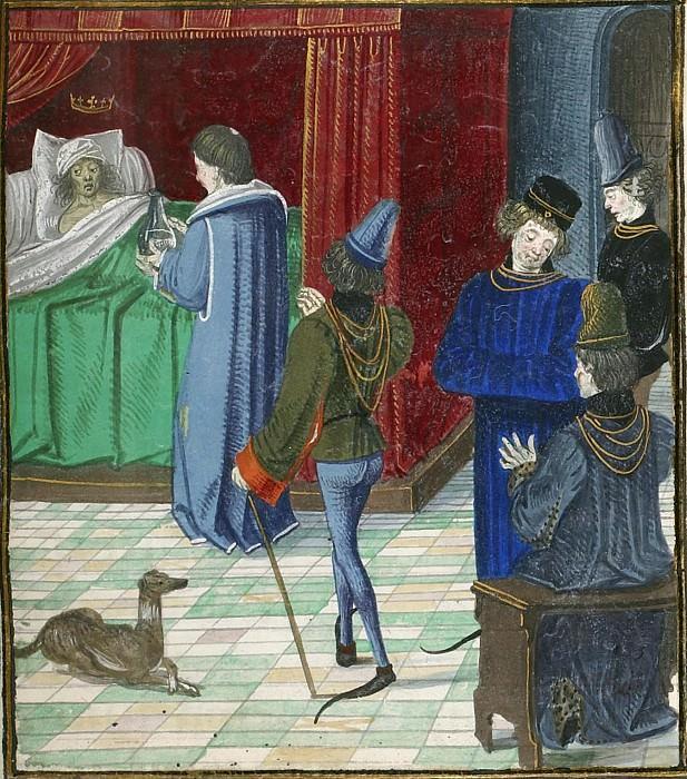 D164R Болезнь Карла VI. Хроники Фруассара