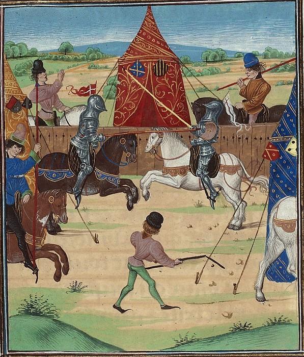 D043L Турнир в Сен-Инглевер в 1390 году. Хроники Фруассара