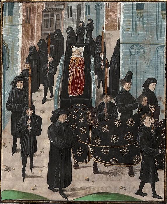D339R Похороны Ричарда II Английского. Хроники Фруассара