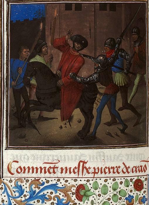 D146L Покушение на Оливье де Клиссона Пьером де Краоном в 1392 году. Хроники Фруассара